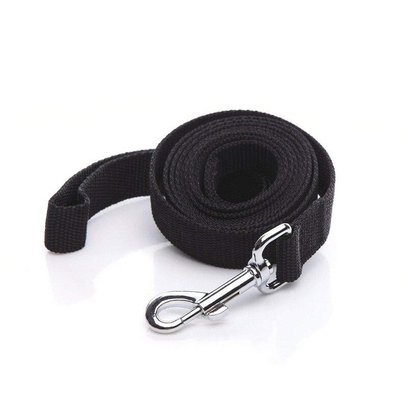 Durable Nylon Dog Leash Walking Training Dog Traction Rope Medium Big Dog Proof Punch Dog Leash Pet Reflective Tape