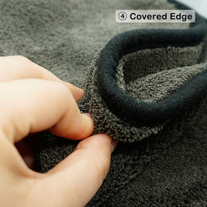 Image 5 - 1200gsm microfibra toalha de carro detalhando toalha casa pano de limpeza carro ferramenta de polimento de secagem toalhas de lavagem para cozinha 40*40/60cm