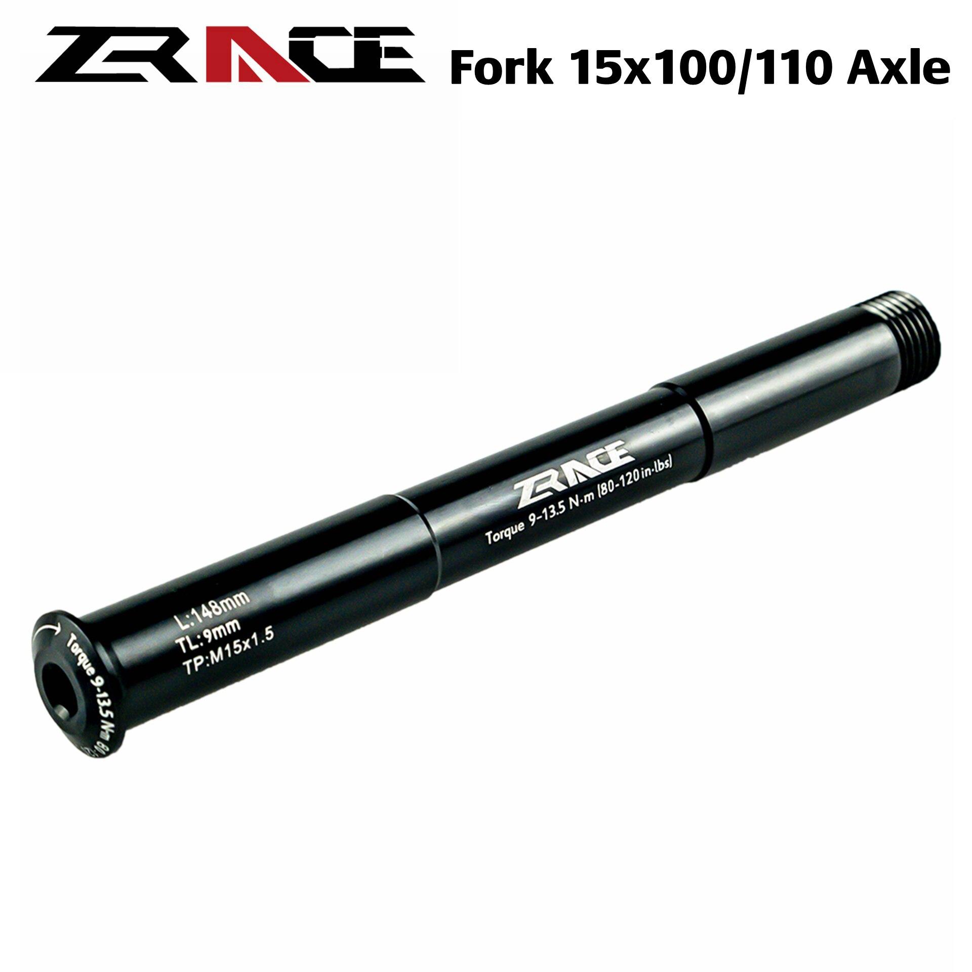 Ступицы для горных велосипедов QR15x100 / QR15x110 через рычаг оси компоненты для горных велосипедов для ROCKSHOX FOX 15x100-110 QR15 * 100-110 boost