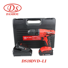 DS Lithium Rechargeable Hand Drill 18V Electric Sscrewdriver DS18DVD-LI Impact Electric Drill Screwdriver 1 PC