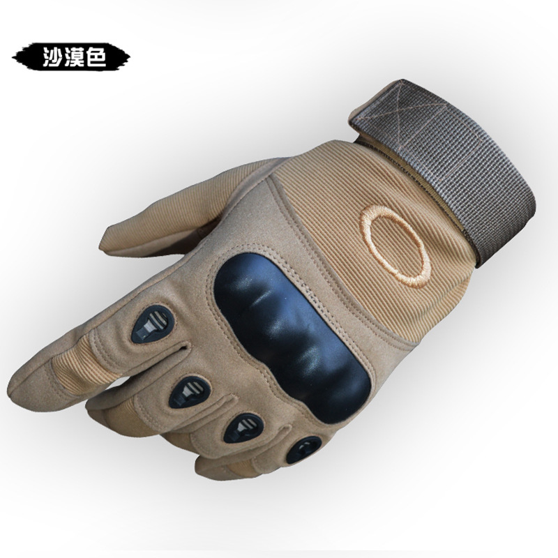 Factory Direct Long Finger O Men's Outdoor Climbing Sports Riding Anti-Slip Water Resistant Fashionable Tactical Fighting Gloves