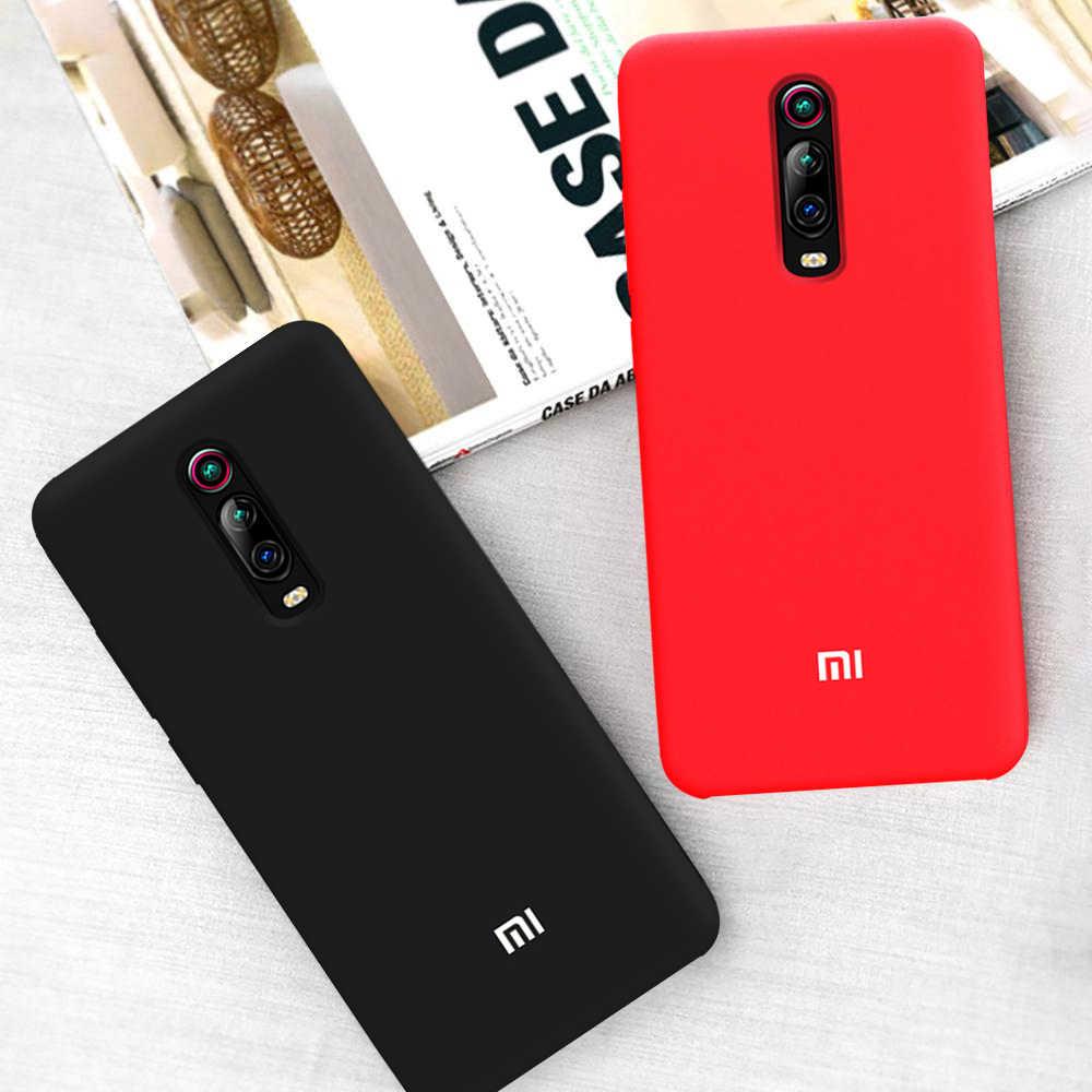 Чехол для Xiaomi Mi 9T Redmi K20 Pro, Оригинальный жидкий силиконовый мягкий защитный чехол, чехол для Xiaomi Mi 9 SE Redmi Note 8 7 6 5 Pro 6A 7A