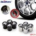 Колпачки для автомобильных колес Doofoto 4x, колпачки для штока шин Dacia Duster Logan MCV Sandero Stepway Dokker Lodgy, аксессуары для стайлинга