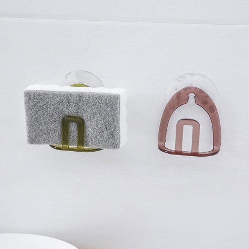 H576f8a236a5f44d2bba4eda211a121367 - Suction cup gutters asphalt sponge storage rack kitchen sink soap rack asphalt shelf shelf