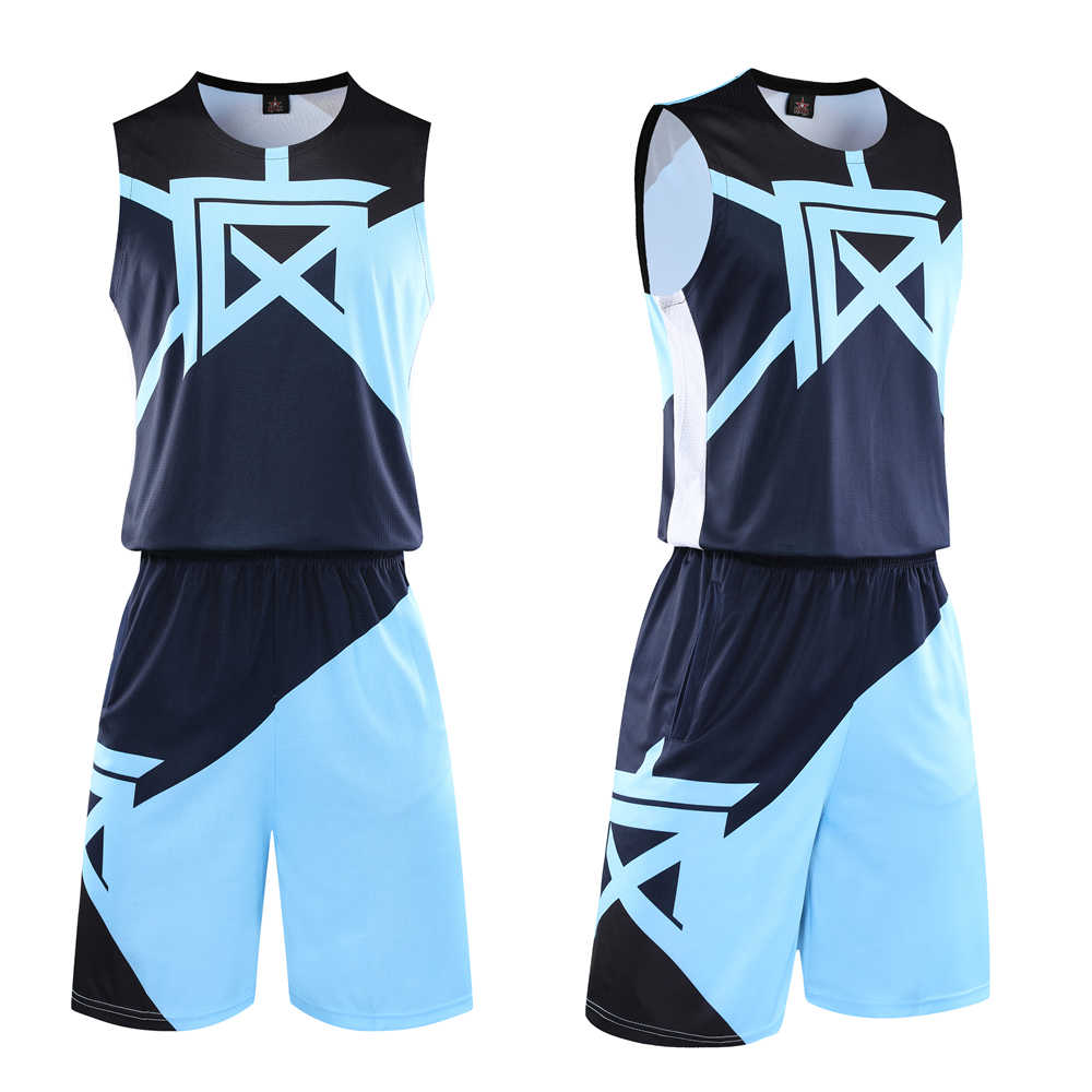 Men Kids Boys Collge Basketball Jersey Sets Uniforms Sport Clothing Basketball Jerseys Shirts Suit Breathable Customize Printing