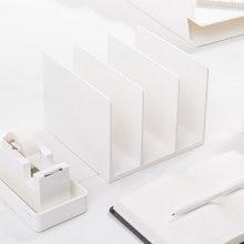 Nusign Подставка для книг с тремя отделениями подставка сортировки