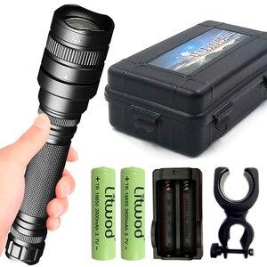 Image 1 - Z201515 XHP70.2 xhp50 強力な LED 懐中電灯戦術ズームトーチ充電式ランタン 32000lm ランプ 18650 バッテリー懐中電灯