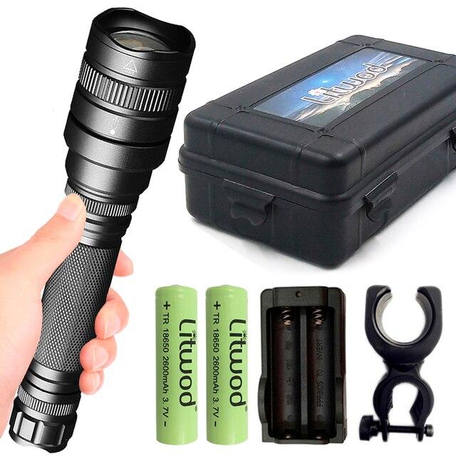 Z201515 XHP70.2 xhp50 強力な LED 懐中電灯戦術ズームトーチ充電式ランタン 32000lm ランプ 18650 バッテリー懐中電灯