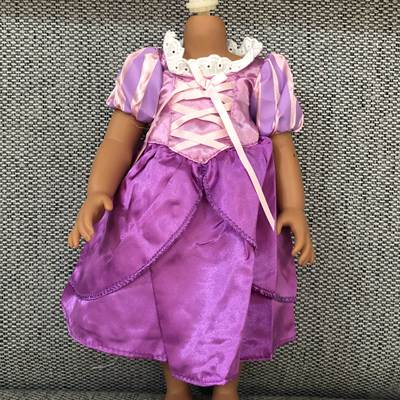 16 inch <font><b>doll</b></font> <font><b>clothes</b></font> princess Skirt <font><b>40</b></font> <font><b>cm</b></font> baby <font><b>dolls</b></font> <font><b>clothes</b></font> newborn Role play princess Anna dress suit Baby toys image