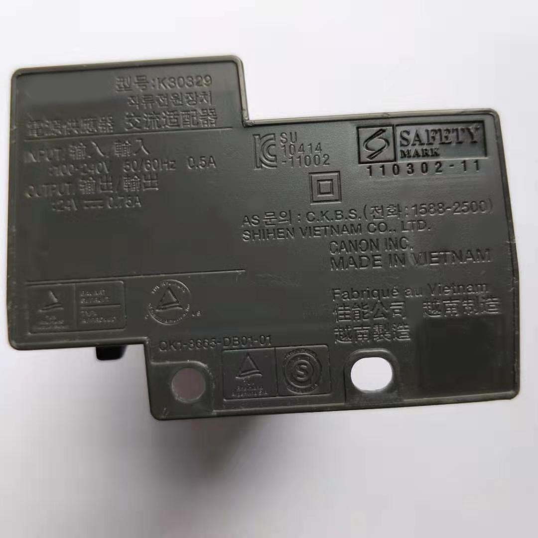 Power Supply Adapter K30329 For Canon PIXMA E500 E518 MG2270 MG2180 3180 MG3580 MG3680