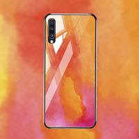 silicone case Tempered Glass Case For samsung galaxy A70 M10 M20 M30 Cases Space Silicone Covers for samsung A7 2019 A70 M10 M20 M30 cover (3)