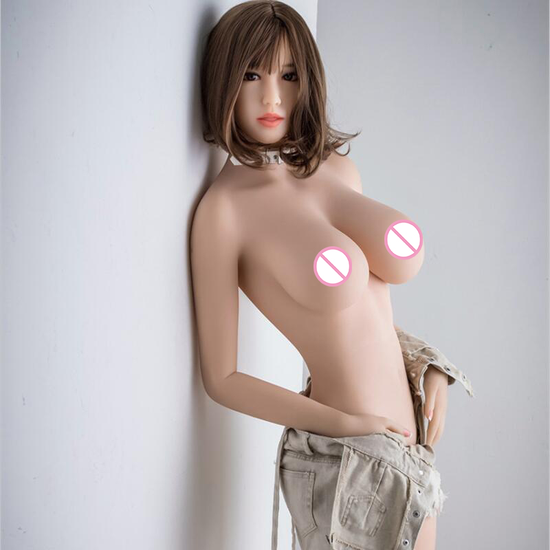 158cm <font><b>Big</b></font> Breast <font><b>Fat</b></font> Ass Silicone <font><b>Sex</b></font> <font><b>Dolls</b></font> For Men <font><b>Sex</b></font> Anime Love <font><b>Doll</b></font> With Metal Skeleton Oral Adult Real Pussy Sexy Products image