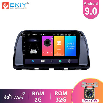 EKIY 9'' IPS Car Radio Multimedia Android 9.0 For Mazda CX5 CX-5 2014 2015 2016 Video Stereo Navi Navigation GPS 4G Automotivo image