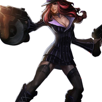 Game LOL Bounty Hunter Mafia Miss Fortune Cosplay Costume Suit Double Breasted Striped Coat Blazer Set (Jacket + Skirt + Hat)
