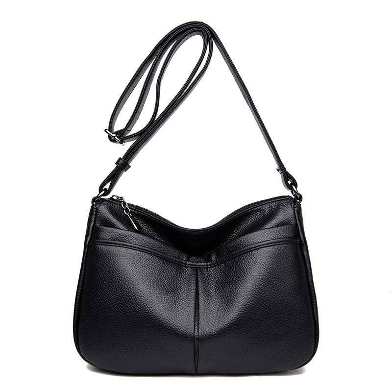 Women's Genuine Leather Handbags All-match Shoulder CrossBody Bags Ladies Fashion Messenger Bag Small Women Bags