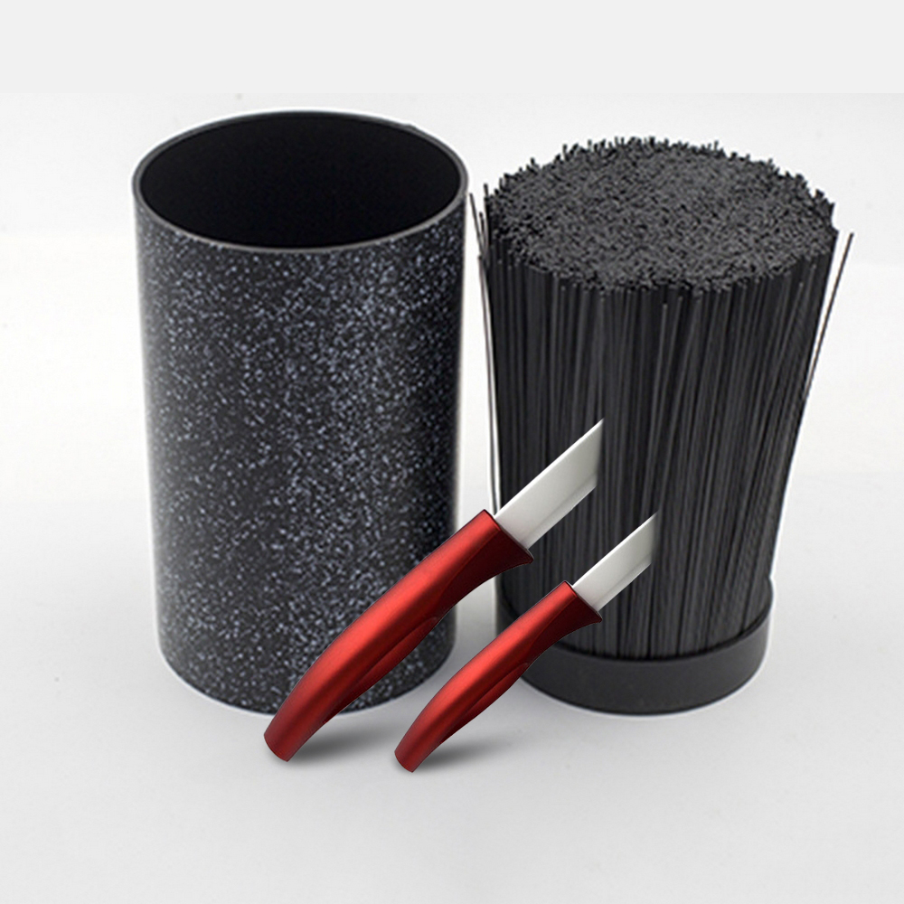 Gift Universal Plastic Spot Round Knife Holder Multifunctional Tool Holder Knife Block Stand Sooktops Tube Shelf Chromophous