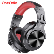 Oneodio Fusion Professional Wired Studio DJ Headphones + Wireless Bluetooth 5.0 Headset HIFI Stereo Monitor Headphone With Mic
