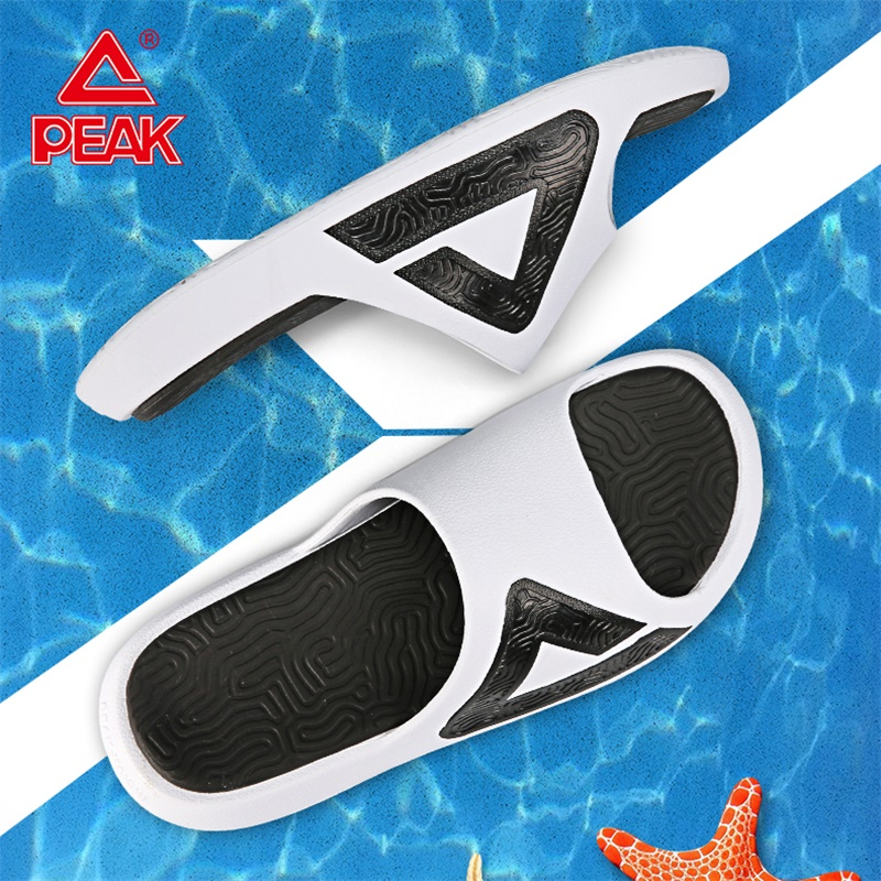 PEAK TAICHI Slipper Men Non-slip Elasticity Wear Beach Outdoor Sandals Lightweight EVA Midsole Summer Slippers