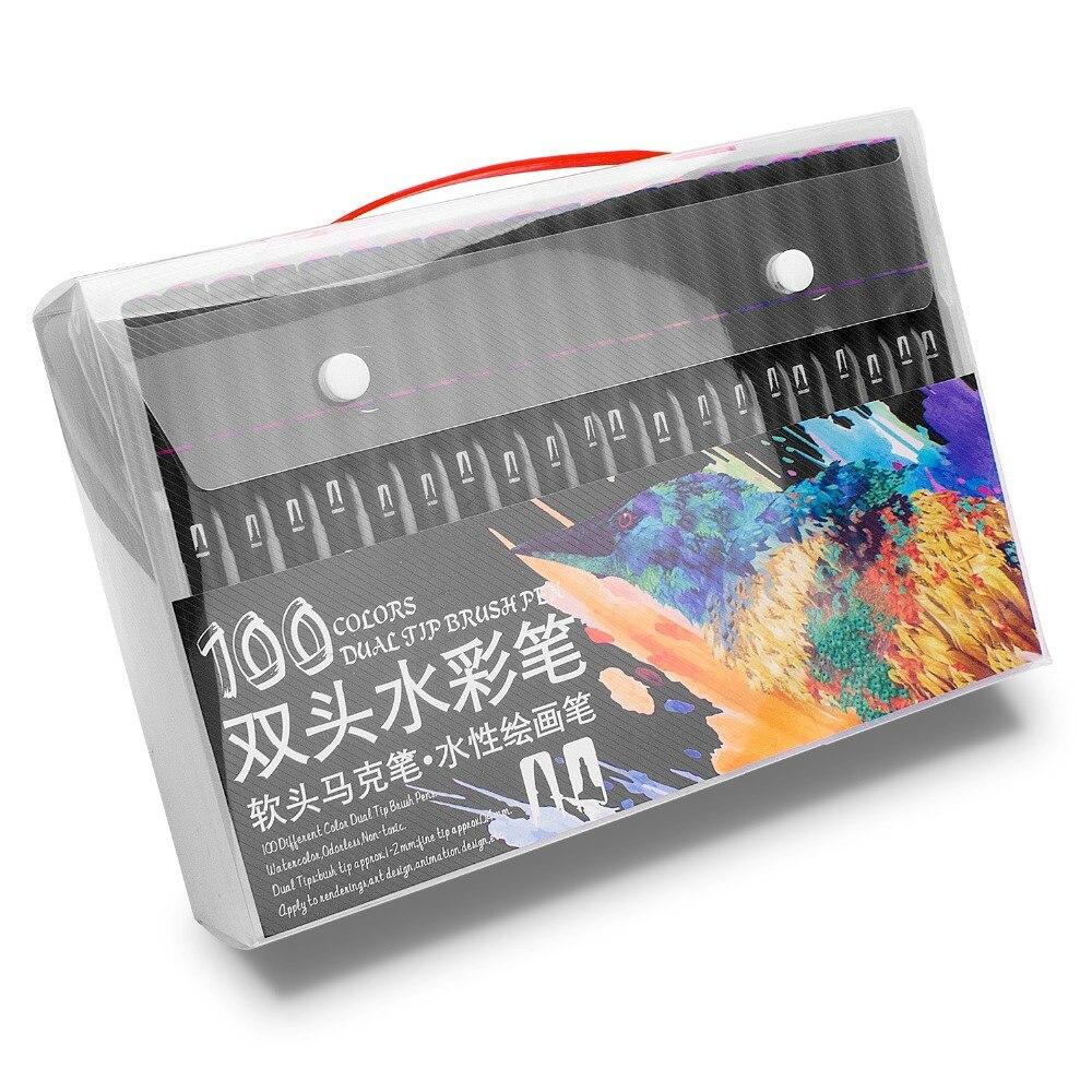aquarela, caneta de aquarela profissional conjunto para