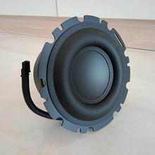 4 calowy 4.5 calowy głośnik niskotonowy 50W średniotonowy basowy gumowy brzeg wysokiej klasy jednostka basowa 4 ohm dla głośnika Peerless 1 sztuk