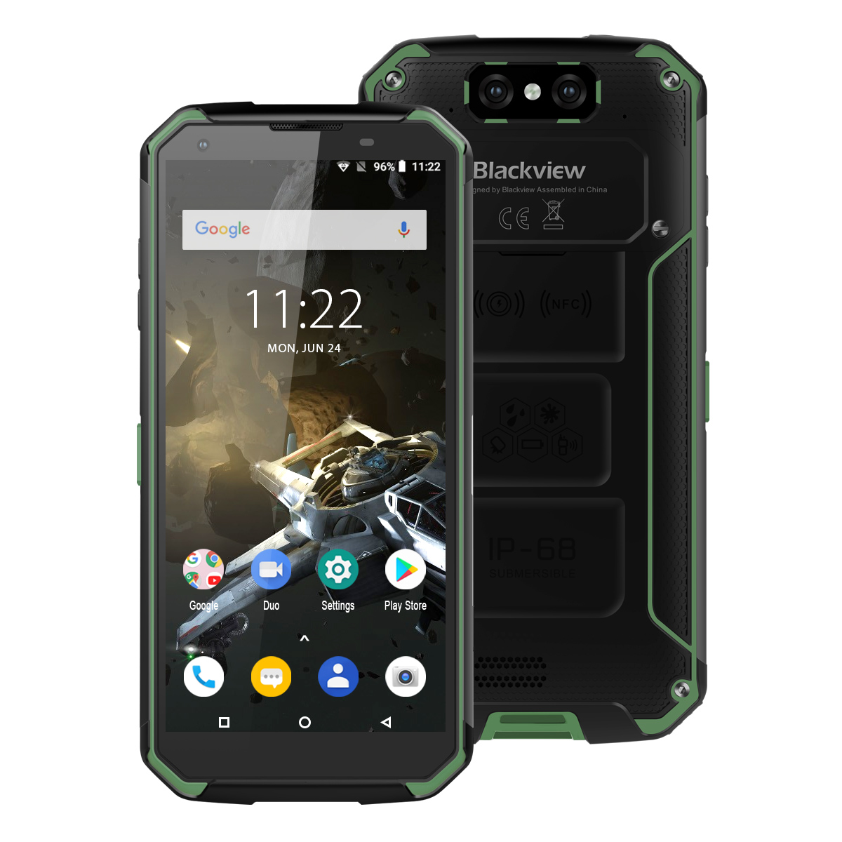 Blackview Helio P70 Bv9500-Plus 64GB NFC Quick Charge 3.0 Wireless Charging Octa Core