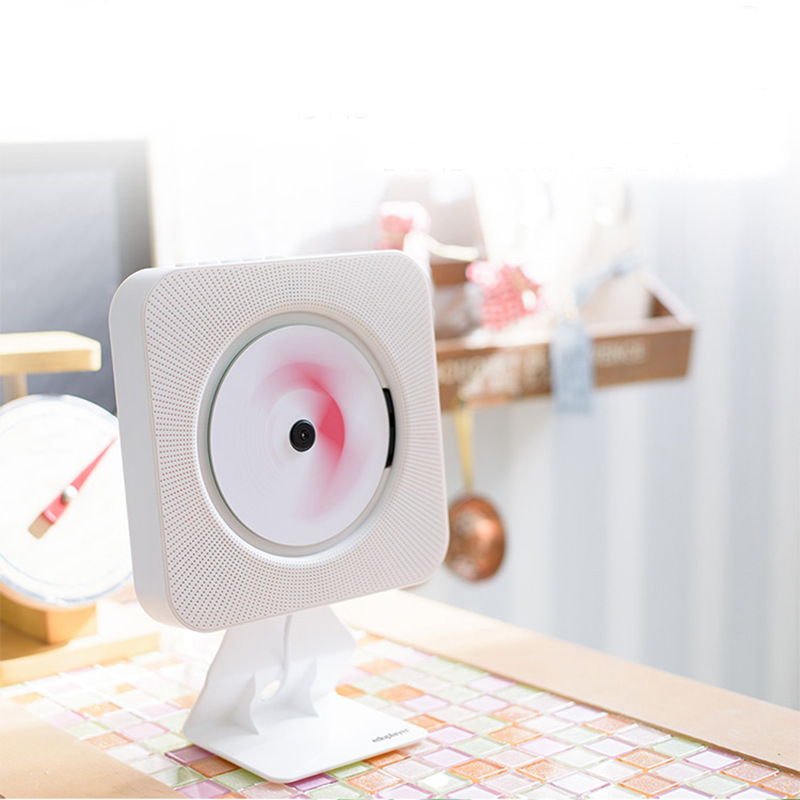 CD montado en la pared reproductor de CD Home reading CD máquina Bluetooth CD Radio para la educación Prenatal - 3