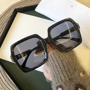Luxury design brand new square sunglasses 1
