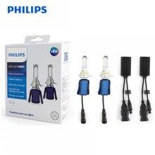 פיליפס LED H4 H7 H8 H11 H16 9005 9006 9012 HB3 HB4 HIR2 Ultinon חיוני LED 6000K לבן אור אוטומטי פנס ערפל מנורות 2X