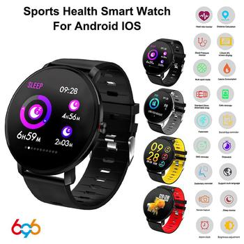 696 K9 Sport Bluetooth 1.3 Inch Full Touch Screen Smart Watch Heart Rate Monitor Fitness Tracker Smartwatch Men Waterproof Women image