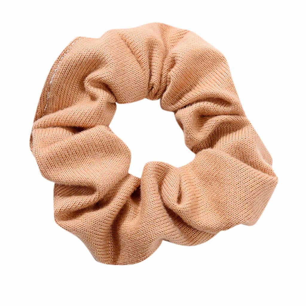 Mulheres elástico corda de cabelo anel gravata scrunchie rabo de cavalo titular faixa de cabelo bandana estilo casual acessórios para o cabelo de alta qualidade # zh