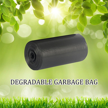 Disposable Degradable Garbage Bag Flat Mouth Environmental Protection Household Biodegradable Rubbish Bags Refuse Bag 2020 image