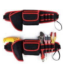 Multi-function waterproof tool bag finishing backpacks Kit package electrician maintenance belt waist tools 12 14 16 18 multi function electrician shoulder storage bag tool kits workpro