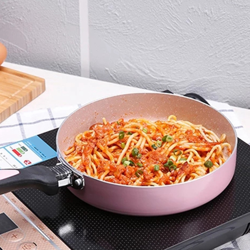 16 Cm Non-Stick Pan Non-Stick Cookware Frying Pan Saucepan Small Fried Eggs Pot General Use For Gas And Induction Cooker