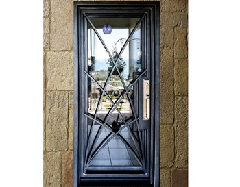 Shanghai Hench Brand China Factory 100% Custom Made Sale Australia Wrought Iron Doors