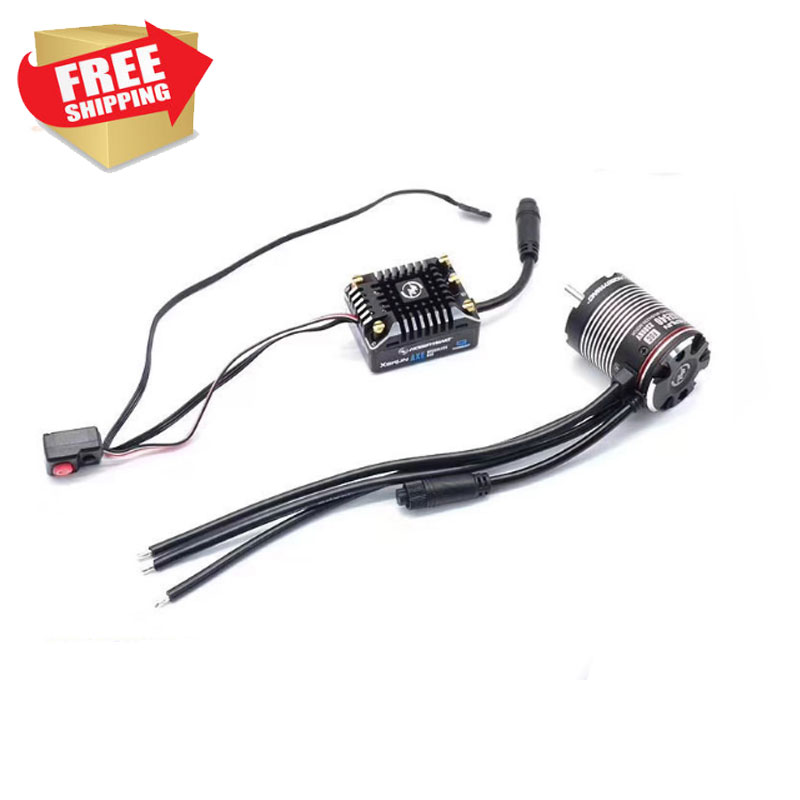 HW XERUN AXE550 540 Motor 1800 2300 2700 3300kv ESC 2S 3S For RC Car Crawler