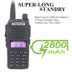 Image 4 - الأصلي BaoFeng UV 82 لاسلكي تخاطب 5 واط 128Ch المزدوج الفرقة VHF UHF 136 174 ميجا هرتز 400 520 ميجا هرتز المحمولة Baofeng UV82 هام راديو Baofeng 82