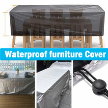 72Sizes Furniture Covers Sofa Table Chair Dust Proof Cover Anti-UV Oxford Fabric Waterproof Outdoor Garden Patio Furniture Cover
