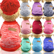Classic Dog Sweaters Pet Clothes For Dogs Coat Jackets Cotton Colorful Dog Sweaters For Small Dogs Clothes Winter French Bulldog