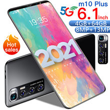 M10 Plus Global Versie Telefon 4Gb 64Gb 10 Core 6.1