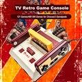 2017 Nieuwe Achtergestelde D99 Video Game Console Klassieke Familie TV Video Games Consoles Speler Met 400 IN1  500 IN1 Games Kaarten Voor Kiezen