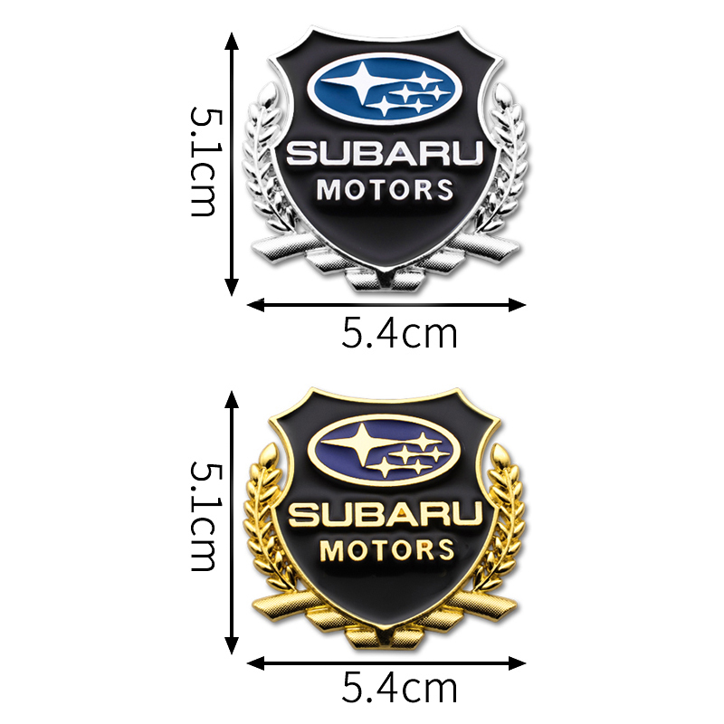 Стайлинг автомобиля 3D металлические наклейки эмблема значок наклейки авто украшение для Subaru Forester Impreza Outback Legacy Xv аксессуары