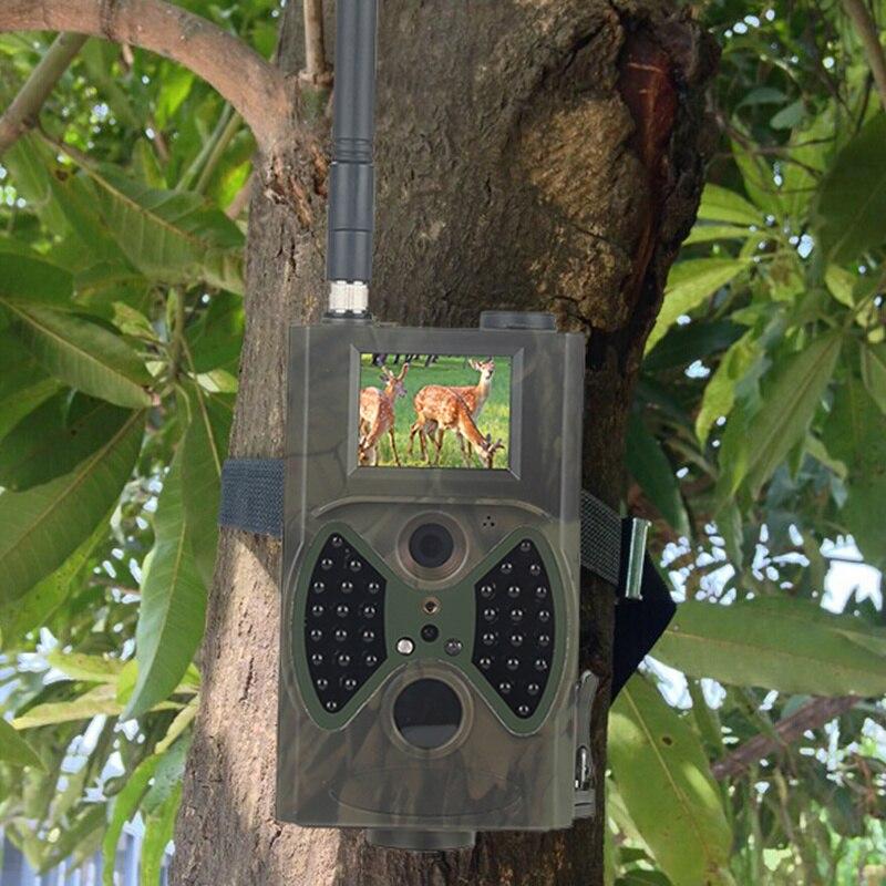Skatolly HC300M cámara de caza GSM 12MP 1080P foto trampas visión nocturna vida silvestre infrarrojo caza Trail cámaras caza Chasse scout - 5
