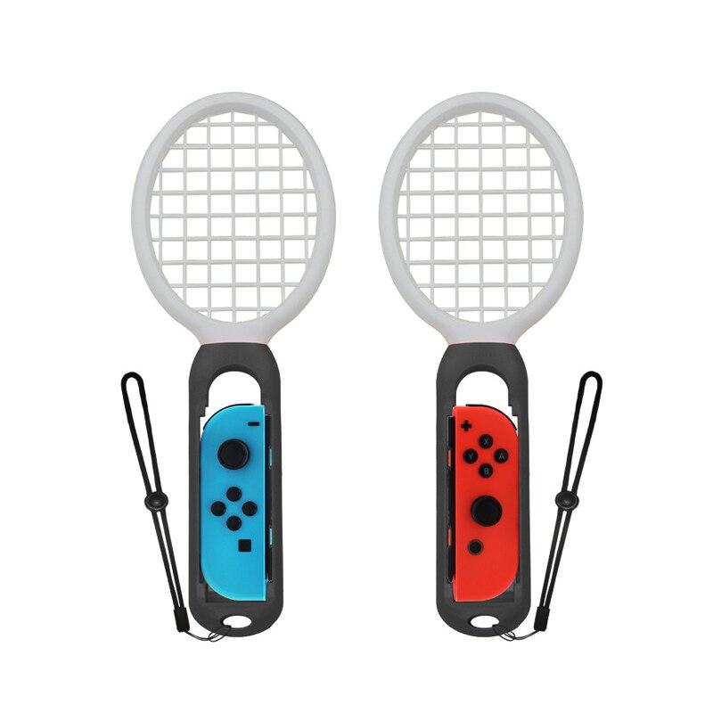 2 pcs 2 PCS Switch Mario Tennis Racket Handle Holder Gamepad Racket for Nintend Nintendo NS Joy-Con Somatosensory Game Controller Grip (5)