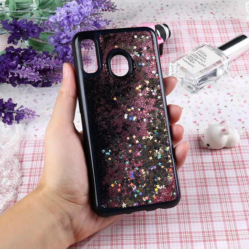 Chất Lỏng QuickSand Ốp Lưng Dành Cho Samsung Galaxy Samsung Galaxy A50 A70 A30 A40 A80 A10 Ốp Lưng Glitter Ốp Lưng Mềm Mại Dành Cho Samsung 50 70 30 40