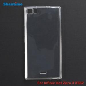 For Infinix Hot Zero 3 X552 Gel Pudding Silicone Phone Protective Back Shell For Infinix Hot Zero 3 X552 Soft TPU Case