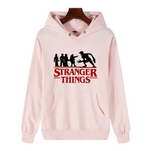 Stranger Things Hoodie Men/Woman Hooded Hoodies Kpop Sweatshirts Kawaii Korean Unisex Harajuku Hip Hop Hoodie Sweatshirt цены