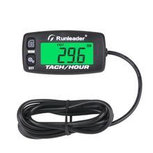 HM032C endüktif takometre göstergesi motor saat metre tekne bakım hatırlatma tako saat metre için motosiklet ATV çim biçme makinesi