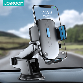 Car Phone Holder Stand 360 Rotation Windshield Gravity holder Strong Sucker Dashboard Mount Support For Phone in Car Joyroom