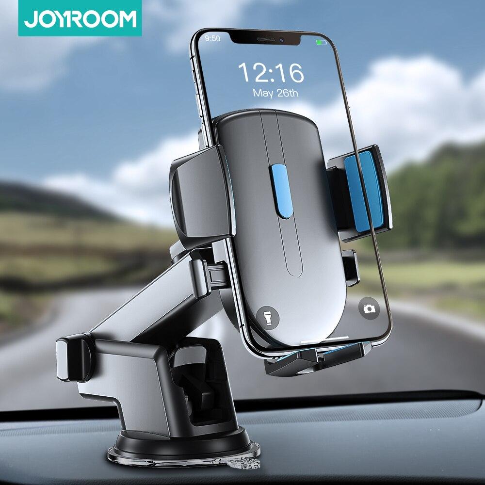 Автомобильная Подставка для телефона с вращением на 360 градусов, Гравитационный держатель для лобового стекла, крепкая присоска, крепление для приборной панели, подставка для телефона в автомобиле Joyroom|Подставки и держатели|   | АлиЭкспресс