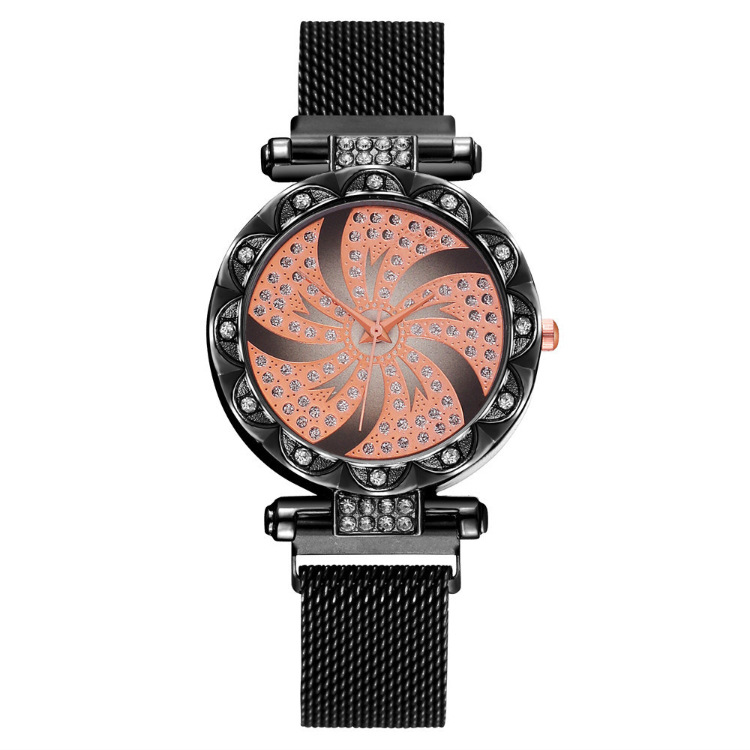 Magnetic Strap Luxury Brand Women Watch Rhinestone Fashion Casual Quartz Wrist Watches Women'c Clock Reloj Mujer Zegarek Damski